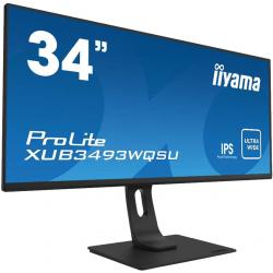 """Monitor LED IIYAMA XUB3493WQSU-B1 34"""" Ultra Wide"""