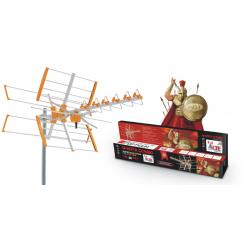 Zestaw alarmowy SATEL Integra 24, klawiatura Graficzna, 5 czujek, sygnalizator zewnętrzny