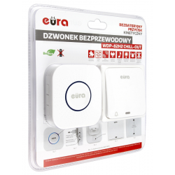 Zestaw alarmowy SATEL Integra 64, klawiatura dotykowa, 10 czujek, sygnalizator zewnętrzny