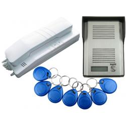 Domofon EURA ADP-41A3 1-rodzinny z czytnikiem RFID  (RL-3203ID)