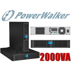 UPS ZASILACZ AWARYJNY POWER WALKER VI 2000 RT LCD HID