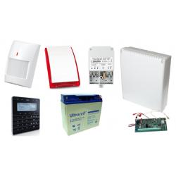 Alarm SATEL BEZPRZEWODOWY  INTEGRA 128WRL GSM 4 x PIR Syg.zew.