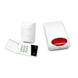 Alarm Satel CA-4 LED 3xAmber, syg. zew. SPL-5010