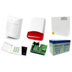 Alarm Satel CA-4 LED, 3xAmber, syg. zew. TI-700