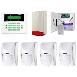 Alarm Satel CA-5 LCD, GSM, 4xBingo, syg. zew. Beewell