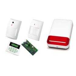 Alarm Satel CA-5 LCD, 2xNavy, 2xTopaz, syg. zew. SPL-2030