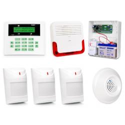 Alarm Satel CA-5 LCD, 3xAqua Pet, 1xDG-1 TCM, syg. zew. SD-6000