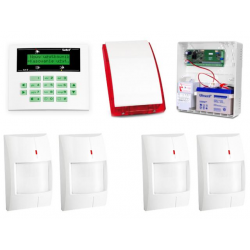 Alarm Satel CA-5 LCD, 2xGraphite Pet, 2xGray Plus, syg. zew. SP-4003