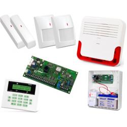 Alarm Satel CA-5 LCD, 2xTopaz, 2xVD-1, syg. zew. SD-6000R