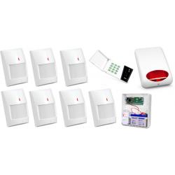 Alarm Satel CA-10 LED, 7xTopaz, syg. zew. SPL-5010
