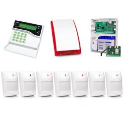 Alarm Satel CA-10 LCD, GPRS-T2, 7xAqua Plus, syg. zew. SP-4001