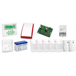 Alarm Satel CA-10 LCD, 5xAqua Plus, 2xNavy, syg. zew. SP-4001