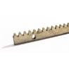 Listwa zębata do napędów przesuwnych - 8 mm