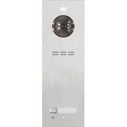 ACO FAM-PRO-1NPACC 1-rodzinny panel wideodomofonowy, podtynkowy, stal nierdzewna, czytnik