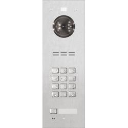 ACO FAM-PRO-1NPZSACC 1-rodzinny panel wideodomofonowy , zamek szyfrowy, czytnik ,  podtynk