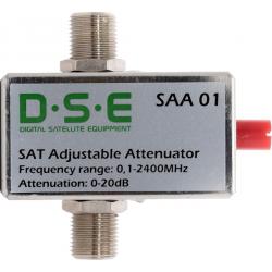 Tłumik kątowy reg. SAT DSE SAA01 5-2400Mhz