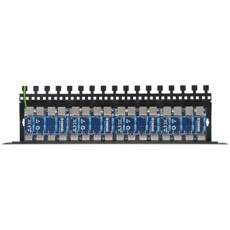 16-kanałowe zabezpieczenie IP serii EXTREME z ochroną PoE EWIMAR PTF-516R-EXT/PoE