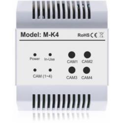Moduł dodatkowych kamer VIDOS DUO M-K4