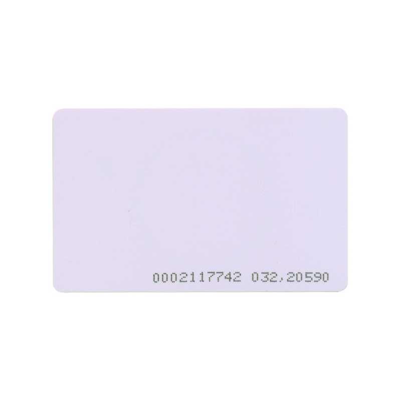 Karta zbliżeniowa 125kHz UNIQUE PROCOMM z nadrukowanym kodem
