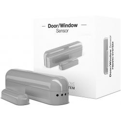 FIBARO Door/Window Sensor (srebrny kontaktron dzwiowo-okienny)