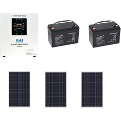 Mikro zestaw fotowoltaiczny off grid 750W