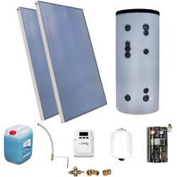 Zestaw Solarny do ogrzewania CWU zbiornik 200l