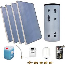 Zestaw Solarny do ogrzewania CWU zbiornik 400l