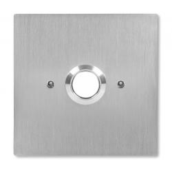 ACO INS-OB-60 Przycisk zwierny wyjścia, podświetlany, podtynkowy, stal nierdzewna, do puszki elektrycznej fi60
