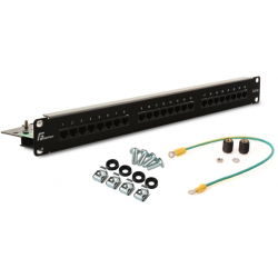 PATCH PANEL UTP CAT.5E 24 PORTY PGF-5EUTP24-B5 GETFORT