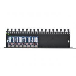8-kanałowy panel zabezpieczający LAN z ochroną przepięciową PoE EWIMAR PTU-8R-ECO/PoE