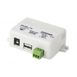 Dodatkowy nadajnik MUSB pozwalający na sterowanie więcej niż jedną myszką EWIMAR MUSB-TX