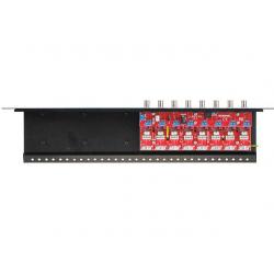 Zabezpieczenie przeciwprzepięciowe na koncentryk i skrętkę serii Extreme z dystrybucją zasilania EWIMAR LHD-8R-EXT-FPS
