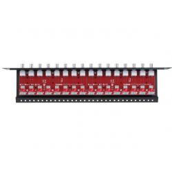 16-kanałowy separator AHD, HD-CVI, HD-TVI z zabezpieczeniem przeciwprzepięciowym EWIMAR LHSO-16R-EXT