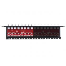 8-kanałowy separator AHD, HD-CVI, HD-TVI z zabezpieczeniem przeciwprzepięciowym EWIMAR LHSO-8R-EXT