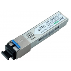 MODUŁ SFP WDM 1.25Gbps, SC SM, 10dB (3km)  TX1310/RX1550