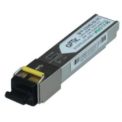 MODUŁ SFP WDM 1.25Gbps, SC SM, 10dB (3km)  TX1550/RX1310