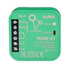 Sterownik ROW-01 AUTONOMICZNY DOPUSZKOWY WiFi ZAMEL SUPLA