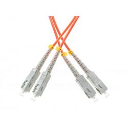 PATCHCORD ŚWIATŁOWODOWY MM 5M DUPLEX 50/125um OM2, SC-UPC/SC-UPC