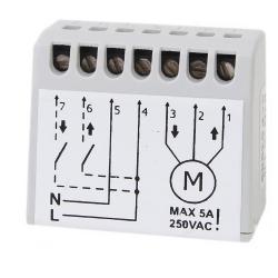 Miniaturowy sterownik radiowy do rolet ELMES STM