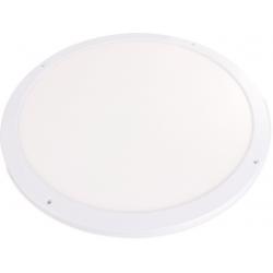 Plafon LED slim 45W 3600lm 55CM aluminiowy biały 4000K neutralna barwa