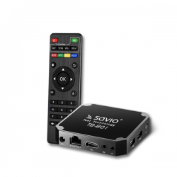 Savio Smart TV Box Basic One 1/8 TB-B01