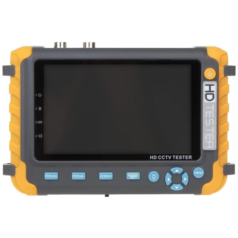 "MONITOR SERWISOWY MS-ACTHD50-5MP AHD, HD-CVI, HD-TVI, PAL  5 """