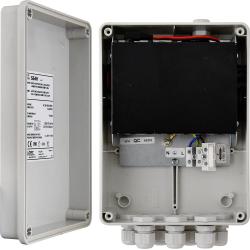 Switch 6-portowy S64H z zasilaczem do 4 kamer IP w obudowie hermetycznej