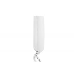 Laskomex LM-8/W-7 biały Unifon cyfrowy z wyłącznikiem, wersja  z  funkcją 3-pozycyjnej regulacji wywołania