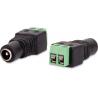 GNIAZDO SKRĘCANE G-55 2.1/5.5 GETFORT DO ZASILACZA CCTV 100szt.