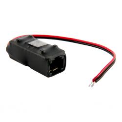 Adapter PoE PASSIVE 1 kanałowy 10/100 ATTE AEPI-1-10-HS