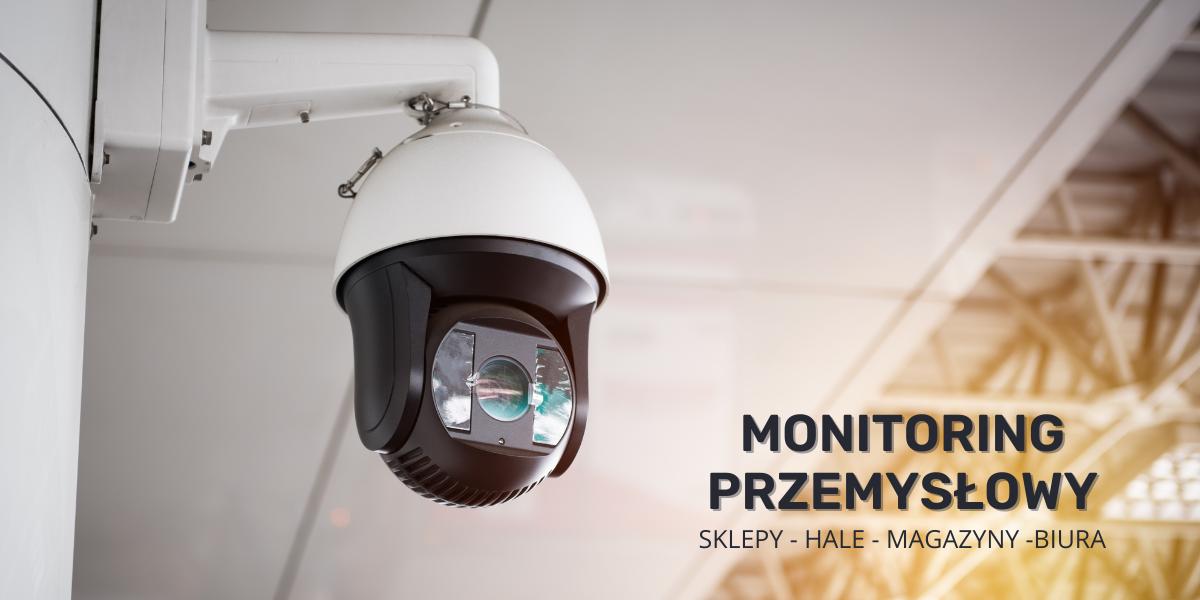 Monitoring przemysłowy , kamery ip, cvi,